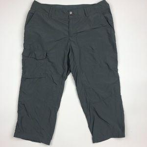 Columbia Women's Capri Pants Size 12 Gray SI18